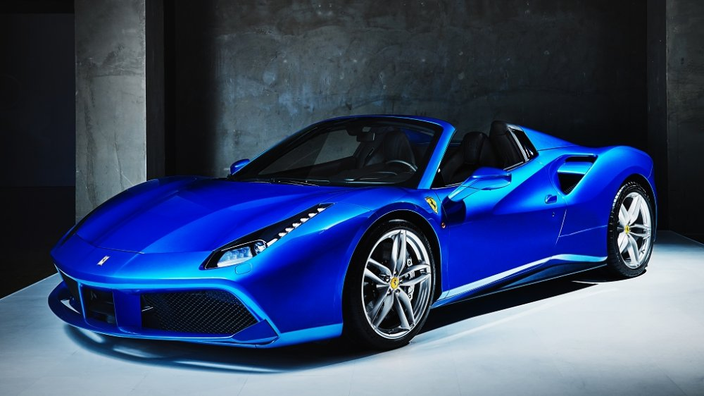 ferrari 488 spider launch korea ferrari online magazine. Black Bedroom Furniture Sets. Home Design Ideas