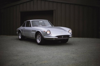 1966 Ferrari 330 GTC by Pininfarina Tom Hains ©2019 Courtesy of RM Sotheby's
