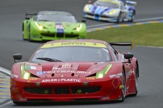 FIA WEC 2013 - Round 3 - 24 Hours of Le Mans - Piergiuseppe Perazzini - Lorenzo Case - Darryl O'Young - 458 Italia GT2 - AF Corse / Image: Copyright Ferrari