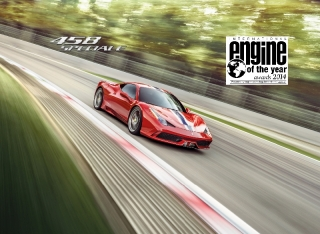 Ferrari takes Best Performance Engine and Above 4-litre Engine accolades for the fourth year running - 25.06.2014 / Image: Copyright Ferrari