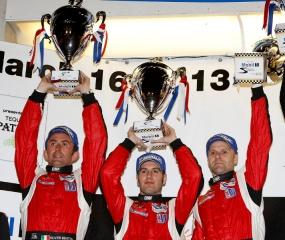 ALMS 2013 - Round 1 - 12 Hours of Sebring 2013 - Risi Competizione 458 Italia - Gianmaria Bruni, Matteo Malucelli and Olivier Beretta / Image: Copyright Ferrari