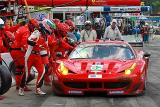 ALMS 2013 - Round 4 - American Le Mans Northeast Grand Prix - Risi Competizione 458 Italia GT / Image: Copyright Ferrari
