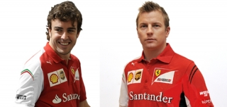 Fernando Alonso and Kimi Raikkonen - F1 Drivers for the 2014 F1 season / Image: Copyright Ferrari