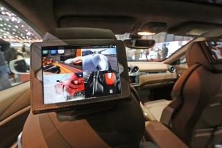 Apple and Ferrari - Geneva Motorshow 2013 / Image: Copyright Ferrari
