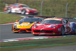 Asian Le Mans Series 2013 - Round 2 - 3 Hours of Fuji - Steve Wyatt - Andrea Bertolini - Michele Rugolo - Team AF Corse - Ferrari 458 GT3 / Image: Copyright www.asianlemansseries.com