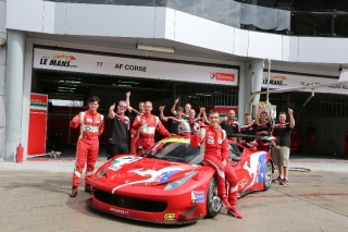 Asian Le Mans Series 2013 - Round 4 - 3 Hours of Sepang - Steve Wyatt - Andrea Bertolini - Michele Rugolo - Team AF Corse - Ferrari 458 GT3 / Image: Copyright Ferrari