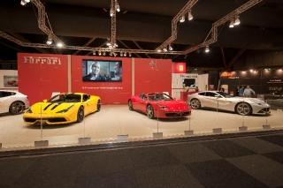 Ferrari at the Brussels Motor Show 2014 / Image: Copyright Ferrari