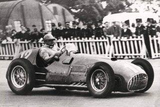 Formula 1 World Championship 1951 - Round 5 - Grand Prix of Great Britain - Jose Froilan Gonzalez - Ferrari 375 F1 - S/N 2 / Image: Copyright Ferrari