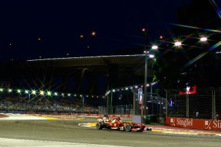 FIA Formula One World Championship 2013 - Round 13 - Grand Prix of Singapore - Fernando Alonso - Ferrari F138 - S/N 299 / Image: Copyright Ferrari