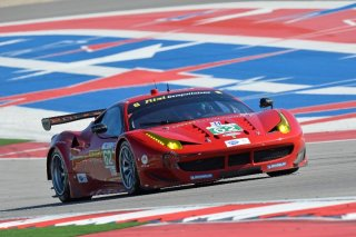 ALMS 2013 - Round 8 - Circuit of the Americas 2013 - Olivier Beretta and Matteo Malucelli / Image: Copyright Ferrari