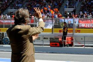 FIA Formula 1 World Championship 2014 - Round 5 - Grand Prix Spain - Luca di Montezemolo / Image: Copyright Ferrari