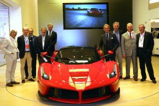 Six leading Ferrari collectors visit Maranello - 08.09.2014 / Image: Copyright Ferrari