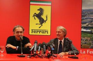 Sergio Marchionne and Luca di Montezemolo - Maranello 10.09.2014 / Image: Copyright Ferrari