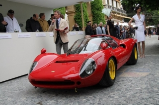 Concorso d´Eleganza Villa d´Este 2013 - Ferrari Dino 166P/206P - Andreas Mohringer - S/N 0834 / Image: Copyright Mitorosso. com - Manfred Steinert and Ernst Fischer
