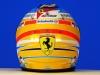 Fernando Alonso`s helmet - Scuderia Ferrari 2014 / Image: Copyright Ferrari