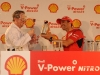 The F60 shows up in South Africa - Shell to launch the new V-Power Nitro+ in South Africa - Special emotions for Marc Gené / Image: Copyright Ferrari