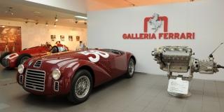 Ferrari 125 S Recreation - S/N 90125 / Image: Copyright Ferrari
