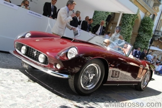 Ferrari 250 GT LWB California Spider - S/N 1203 GT - Sarah Allen - Concorso d Eleganza Villa d Este 2014 / Image: Copyright Mitorosso.com