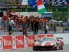 Le Mans 24 Hours 2012 - Giancarlo Fisichella - Gianmaria Bruni - Toni Vilander - Ferrari 458 GTC - 17. overall / 1. in class LMGTE Pro / Image: Copyright Ferrari