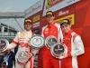 Ferrari Challenge Europe 2013 - Round 1 - Monza - Podium Trofeo Pirelli Race 1 / Image: Copyright Ferrari