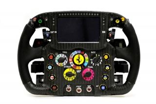 Ferrari Formula 1 Steering wheel 2014 / Image: Copyright Ferrari