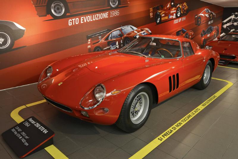 Ferrari MuseumFerrari supercar Tecnology Design Myth