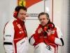 FIA Formula 1 Tests Barcelona 28.02. - 03.03.2013 - Nicholas Tombazis, Pat Fry  / Image: Copyright Ferrari