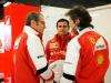 FIA Formula 1 Tests Barcelona 28.02. - 03.03.2013 - Stefano Domenicali, Pedro De la Rosa, Massimo Rivola - Ferrari F138 / Image: Copyright Ferrari