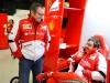 FIA Formula 1 Tests Barcelona 28.02. - 03.03.2013 - Stefano Domenicali, Fernando Alonso - Ferrari F138 / Image: Copyright Ferrari