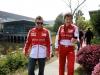 FIA Formula 1 World Championship 2013 - Round 3 - Grand Prix China - Fernando Alonso and Massimo Rivola / Image: Copyright Ferrari