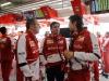 FIA Formula 1 World Championship 2013 - Round 3 - Grand Prix China - Stefano Domenicali, Pedro De la Rosa and Massimo Rivola / Image: Copyright Ferrari