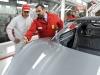 Fernando Alonso visiting the Ferrari factory before leaving for Shanghai / Image: Copyright Ferrari