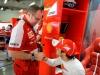 FIA Formula 1 World Championship 2013 - Round 3 - Grand Prix China - Stefano Domenicali and Felipe Massa / Image: Copyright Ferrari