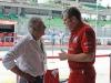 FIA Formula 1 World Championship 2014 - Round 2 - Grand Prix Malaysia - Giacomo Agostini and Stefano Domenicali / Image: Copyright Ferrari