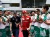 FIA Formula 1 World Championship 2014 - Round 2 - Grand Prix Malaysia - Kimi Raikkonen and Sebastian Vettel / Image: Copyright Ferrari