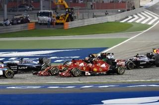 FIA Formula 1 World Championship 2014 - Round 3 - Grand Prix Bahrain - Fernando Alonso - Ferrari F14 T - S/N 304 - Kimi Raikkonen - Ferrari F14 T - S/N 305 / Image: Copyright Ferrari