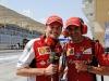 FIA Formula 1 World Championship 2014 - Round 3 - Grand Prix Bahrain - Giancarlo Fisichella and Marc Gené / Image: Copyright Ferrari