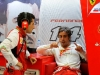 FIA Formula 1 World Championship 2014 - Round 3 - Grand Prix Bahrain - Andrea Stella and Fernando Alonso / Image: Copyright Ferrari