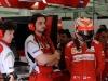 FIA Formula 1 World Championship 2014 - Round 3 - Grand Prix Bahrain - Antonio Spagnolo and Kimi Raikkonen / Image: Copyright Ferrari