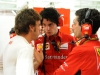 FIA Formula 1 World Championship 2014 - Round 3 - Grand Prix Bahrain - Fernando Alonso and Andrea Stella / Image: Copyright Ferrari