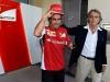 FIA Formula 1 World Championship 2014 - Round 3 - Grand Prix Bahrain - Fernando Alonso and Luca di Montezemolo / Image: Copyright Ferrari