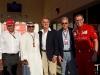 FIA Formula 1 World Championship 2014 - Round 3 - Grand Prix Bahrain - Luca di Montezemolo, Piero Ferrari, Stefano Domenicali / Image: Copyright Ferrari