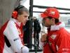 FIA Formula 1 World Championship 2014 - Round 4 - Grand Prix China - Antonello Coletta, Giancarlo Fisichella / Image: Copyright Ferrari