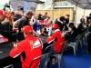 FIA Formula 1 World Championship 2014 - Round 7 - Grand Prix Canada - Fernando Alonso and Kimi Raikkonen / Image: Copyright Ferrari