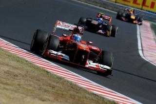 FIA Formula 1 World Championship 2013 - Round 10 - Grand Prix of Hungary - Fernando Alonso - Ferrari F138 - S/N 299 / Image: Copyright Ferrari