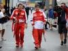 FIA Formula 1 World Championship 2013 - Round 11 - Grand Prix of Belgium - Fabrizio Borra and Fernando Alonso  / Image: Copyright Ferrari