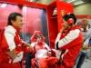 FIA Formula 1 World Championship 2013 - Round 11 - Grand Prix of Belgium - Fabrizio Borra, Fernando Alonso and Andrea Stella  / Image: Copyright Ferrari