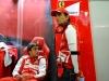 FIA Formula 1 World Championship 2013 - Round 11 - Grand Prix of Belgium - Fernando Alonso and Pedro de la Rosa / Image: Copyright Ferrari