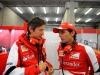 FIA Formula 1 World Championship 2013 - Round 11 - Grand Prix of Belgium - Massimo Rivola and Pedro de la Rosa / Image: Copyright Ferrari