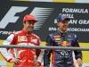 FIA Formula 1 World Championship 2013 - Round 11 - Grand Prix of Belgium - Fernando Alonso and Sebastian Vettel / Image: Copyright Ferrari